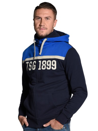 TSG hooded zip jacket navy