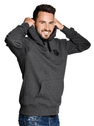TSG hooded sweat allblack
