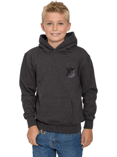 TSG hooded sweat allblack kids