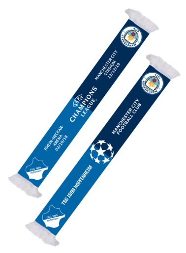 TSG Scarf CL 18/19 Manchester City