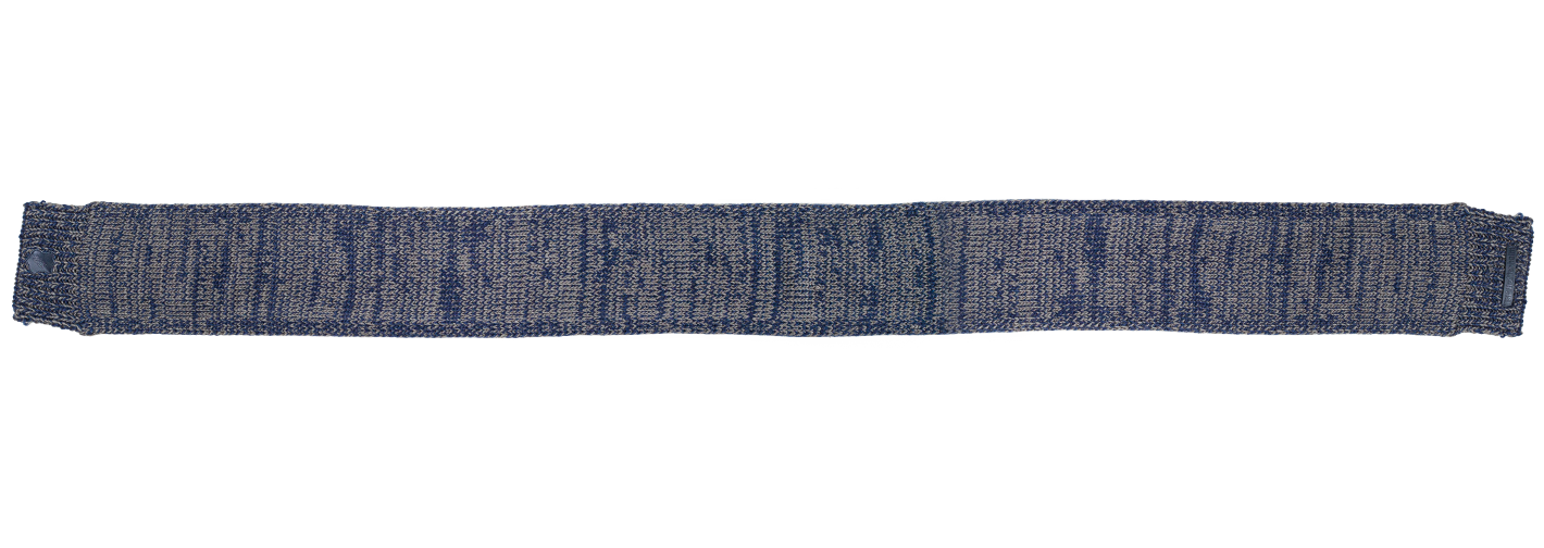 TSG Knitted Scarf Blue-Grey
