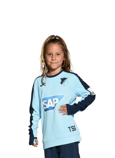 TSG-Kinder-Trainingssweat Hellblau 20/21