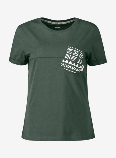 Umoja Women Tee Deep Jungle