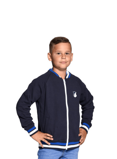 TSG-Kids-Zip-Jacket Navy