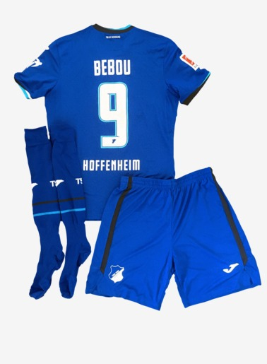 Worn Jersey Kit 9-Bebou, L