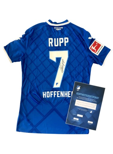 Worn Jersey 7-Rupp, M, signed