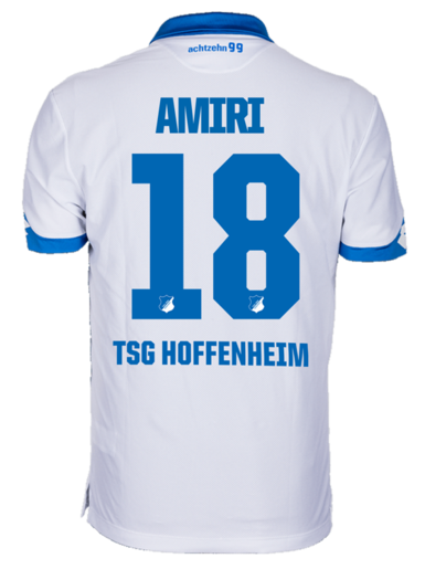TSG Away-Trikot Kind 16-1, Amiri 18, 164