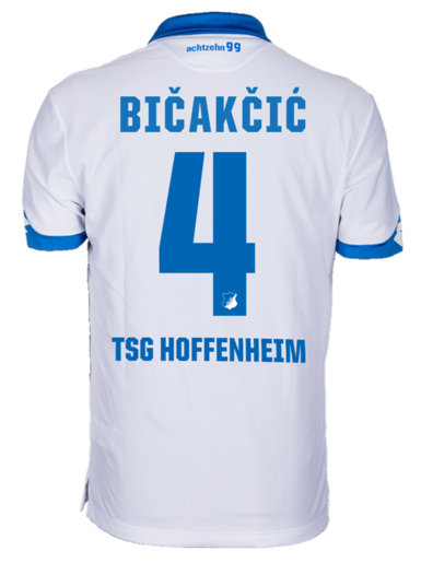 TSG Away-Trikot Kind 16, Bicakcic 4, 128