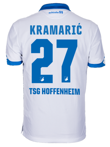 TSG Away-Trikot 16-17, Kramaric 27, 3XL