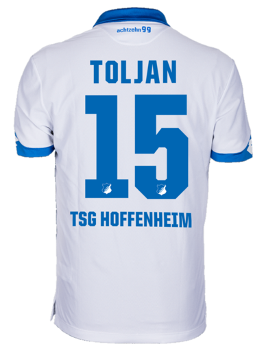 TSG Away-Trikot Kind 16-, Toljan 15, 164