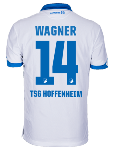 TSG Away-Trikot 16-17, Wagner 14, 3XL