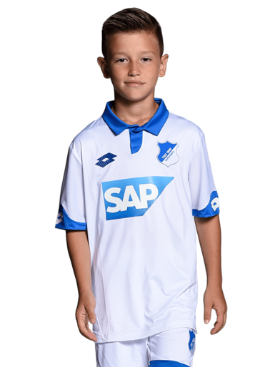 TSG Away-Trikot Kind 16-17, BLANCO, 140
