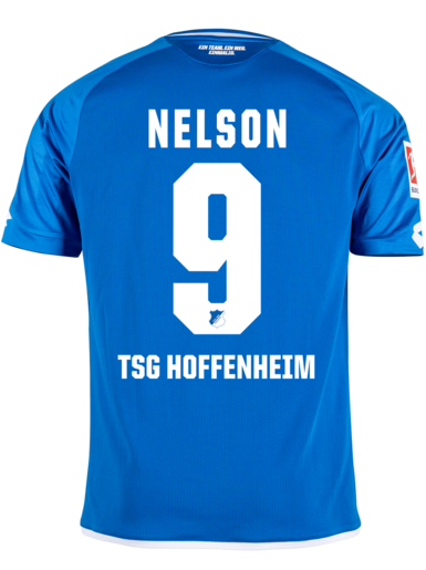 Tsg Home Trikot 18 19 Nelson 9 L Offizieller Tsg 1899 Hoffenheim